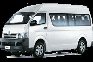 15 Seas Minivan Dubai Hire