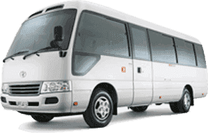 30 Seater Coaster Bus Dubai Rent