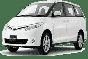 7 Seats Previa Minivan Dubai