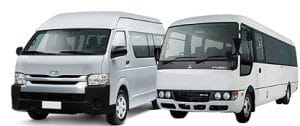 Bus rental services - Van rental Dubai - Sharjah